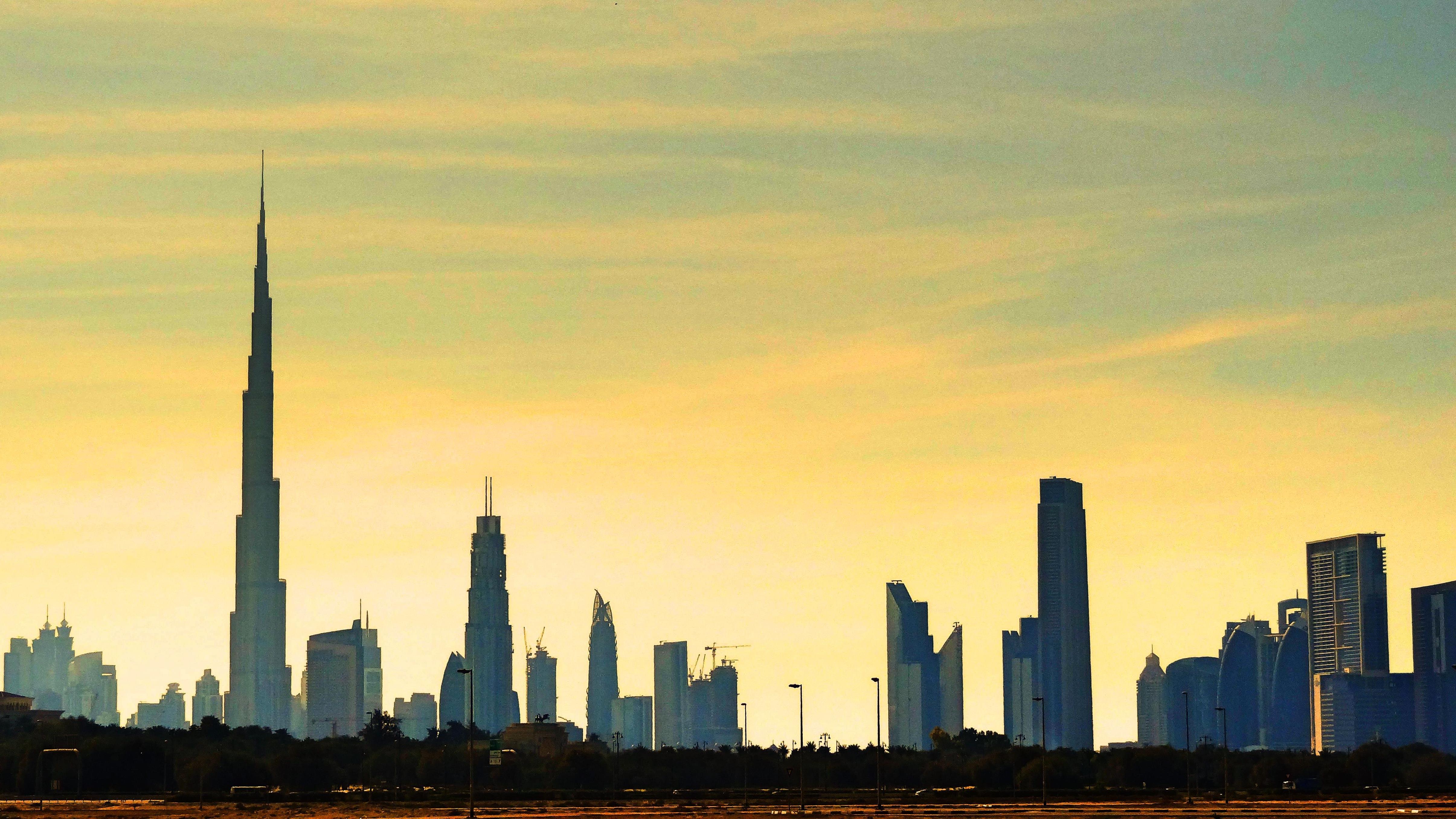Wycieczka do Dubaju dubai skyline panorama miasta