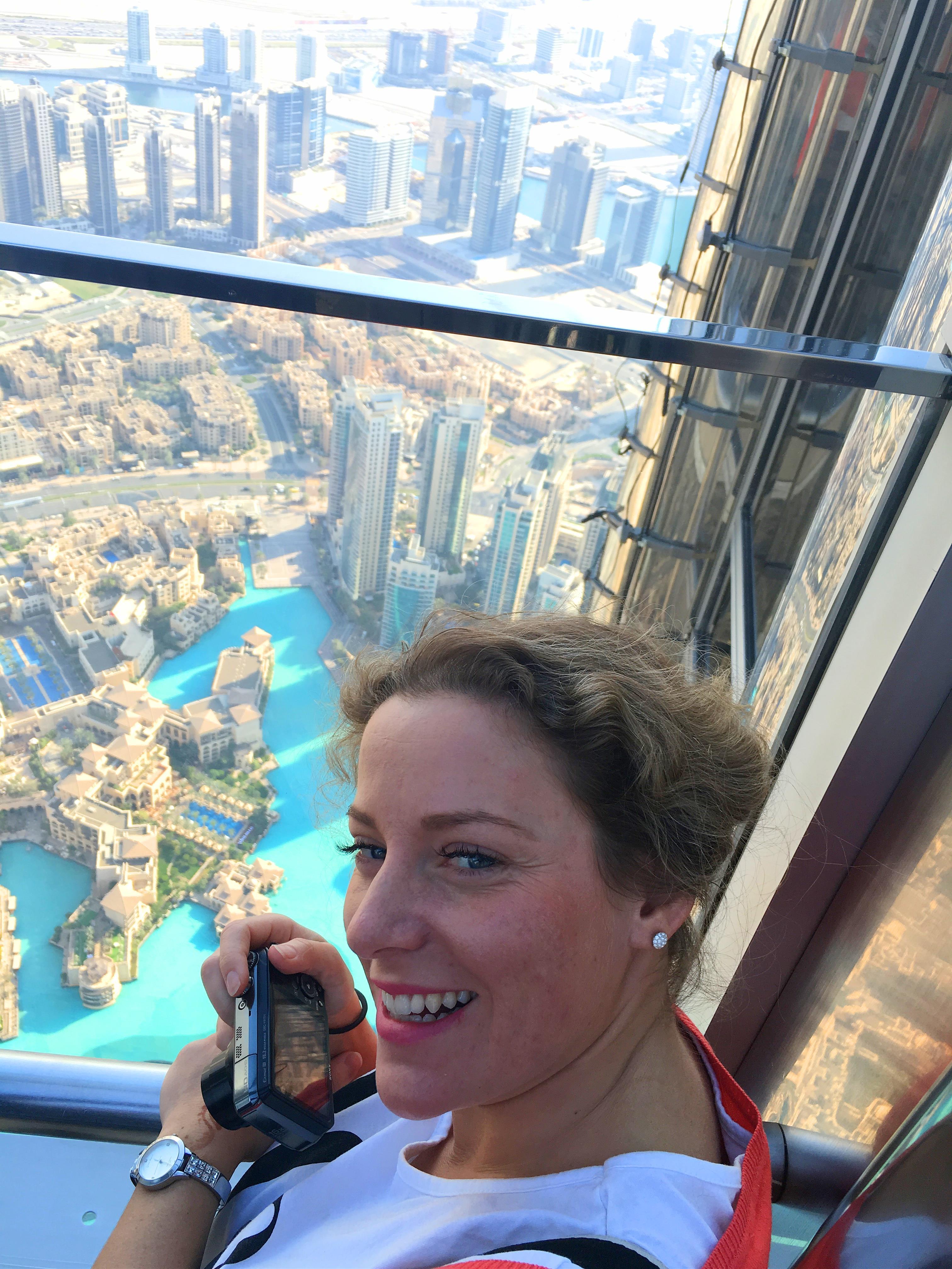 AngelLovesDreams Dubai Dubaj Burj Khalifa Burdż Kalifa podróż_11