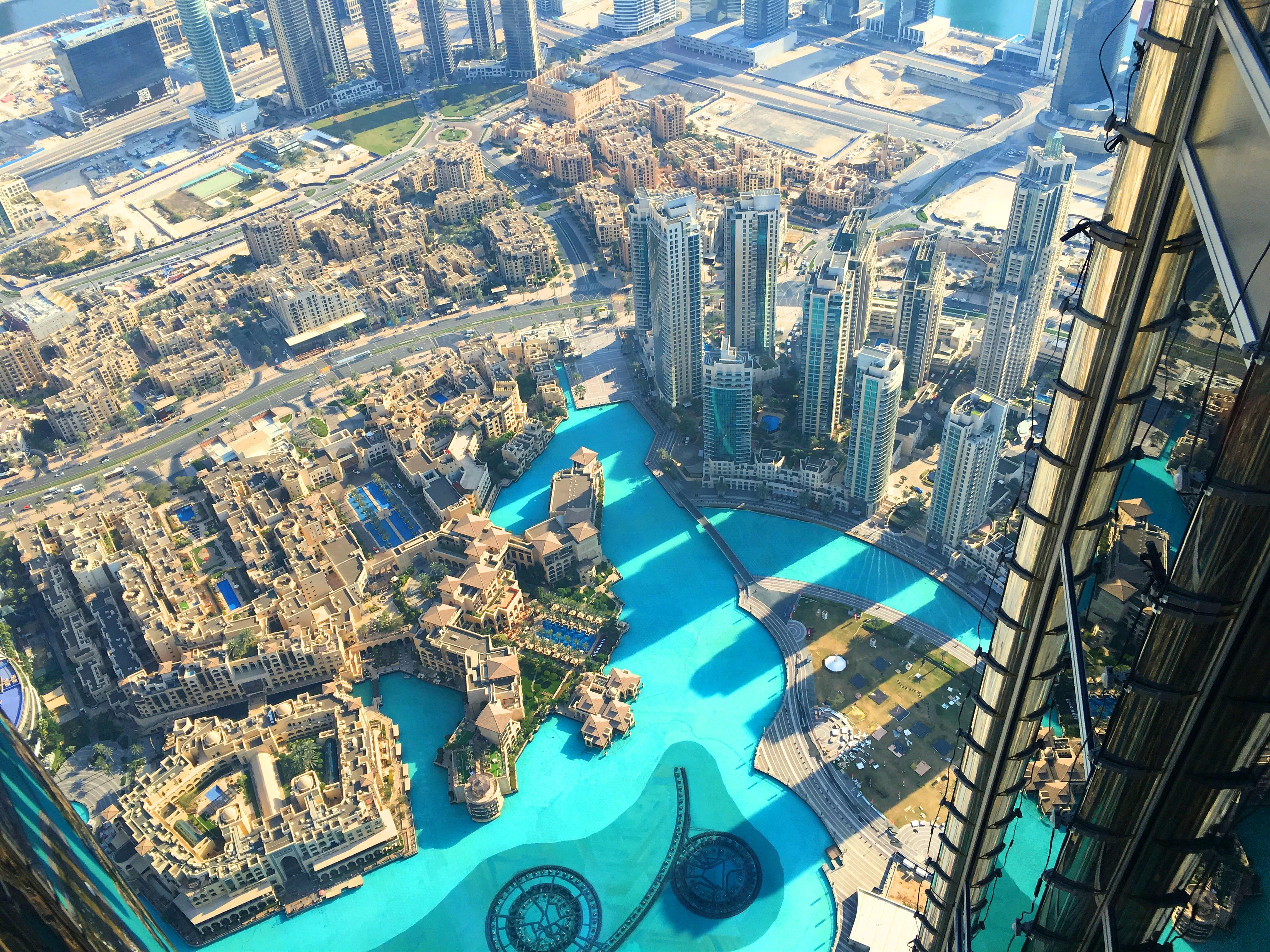 AngelLovesDreams Dubai Dubaj Burj Khalifa Burdż Kalifa podróż_9