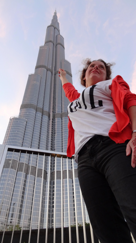 AngelLovesDreams Dubai Dubaj Burj Khalifa Burdż Kalifa podróż_2