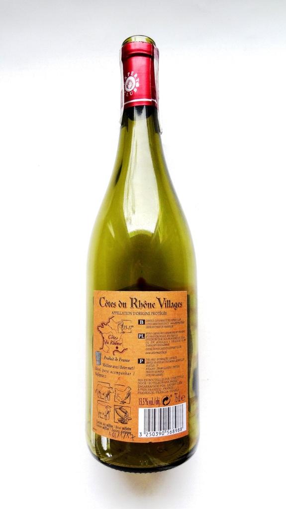francuskie wino czerwone wytrawne shiraz syrah grenache cote du rhone angellovesdreams_3