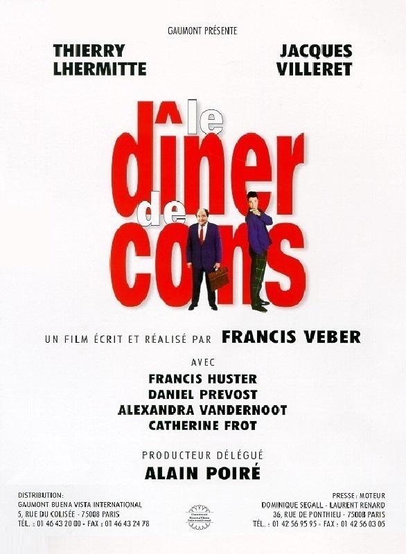 Francuskie komedie idealne na wieczór film kolacja dla palantów 1998 le diner de cons angellovesdreams