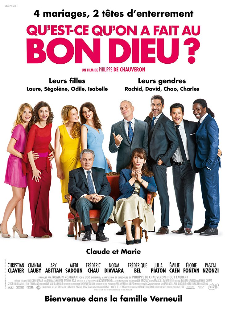Francuskie komedie idealne na wieczór filmZa jakie grzechy dobry Boże Qu'est-ce qu'on a fait au Bon Dieu 2014 angellovesdreams