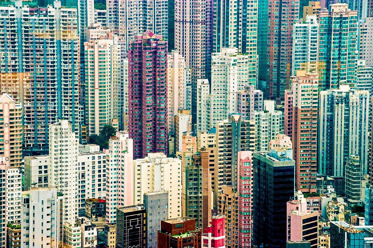 Hong Kong wielkie miasta wycieczka podróż panorama skyline angellovedreams