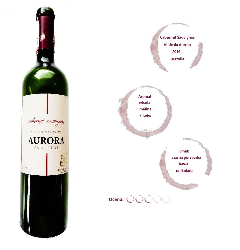 brazylijskie wino czerwone wytrawne aurora varietal cabernet sauvignon wine angellovesdreams