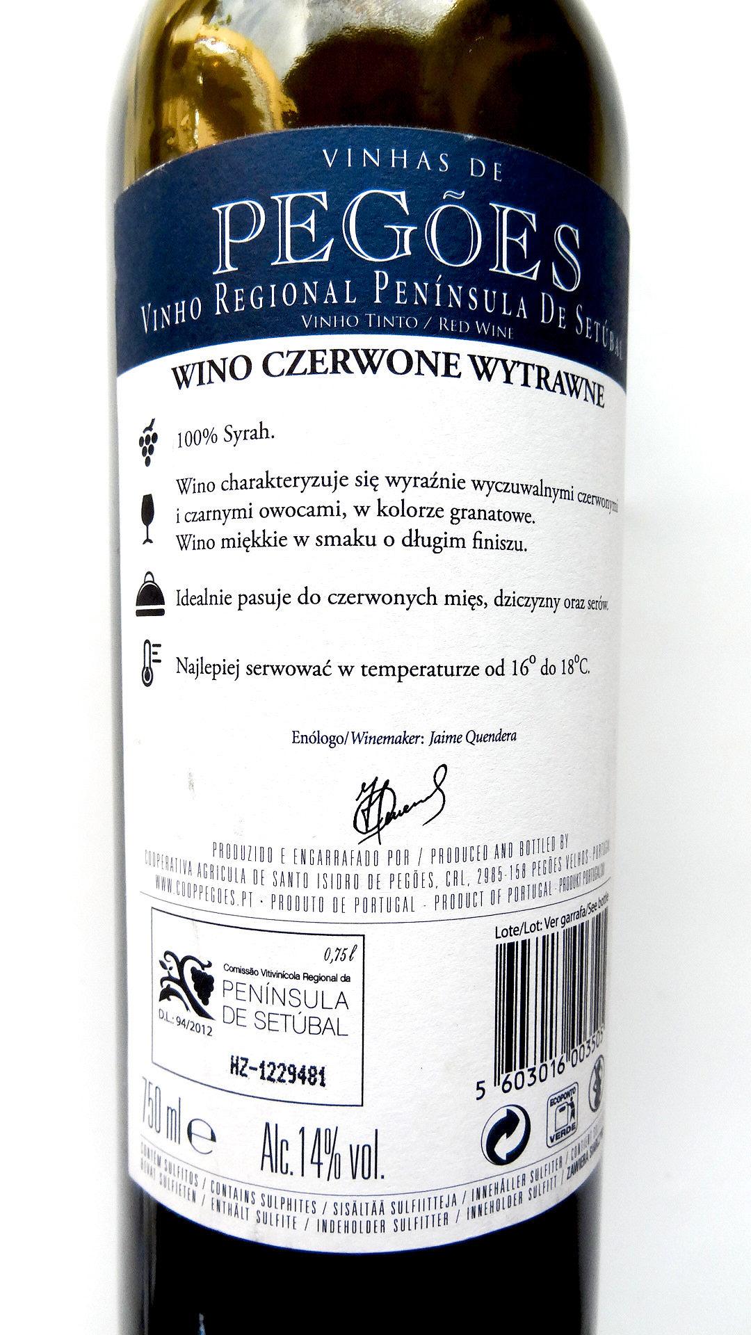 portugalskie wino czerwone wytrawne pegoes syrah shiraz wine angellovesdreams (5)