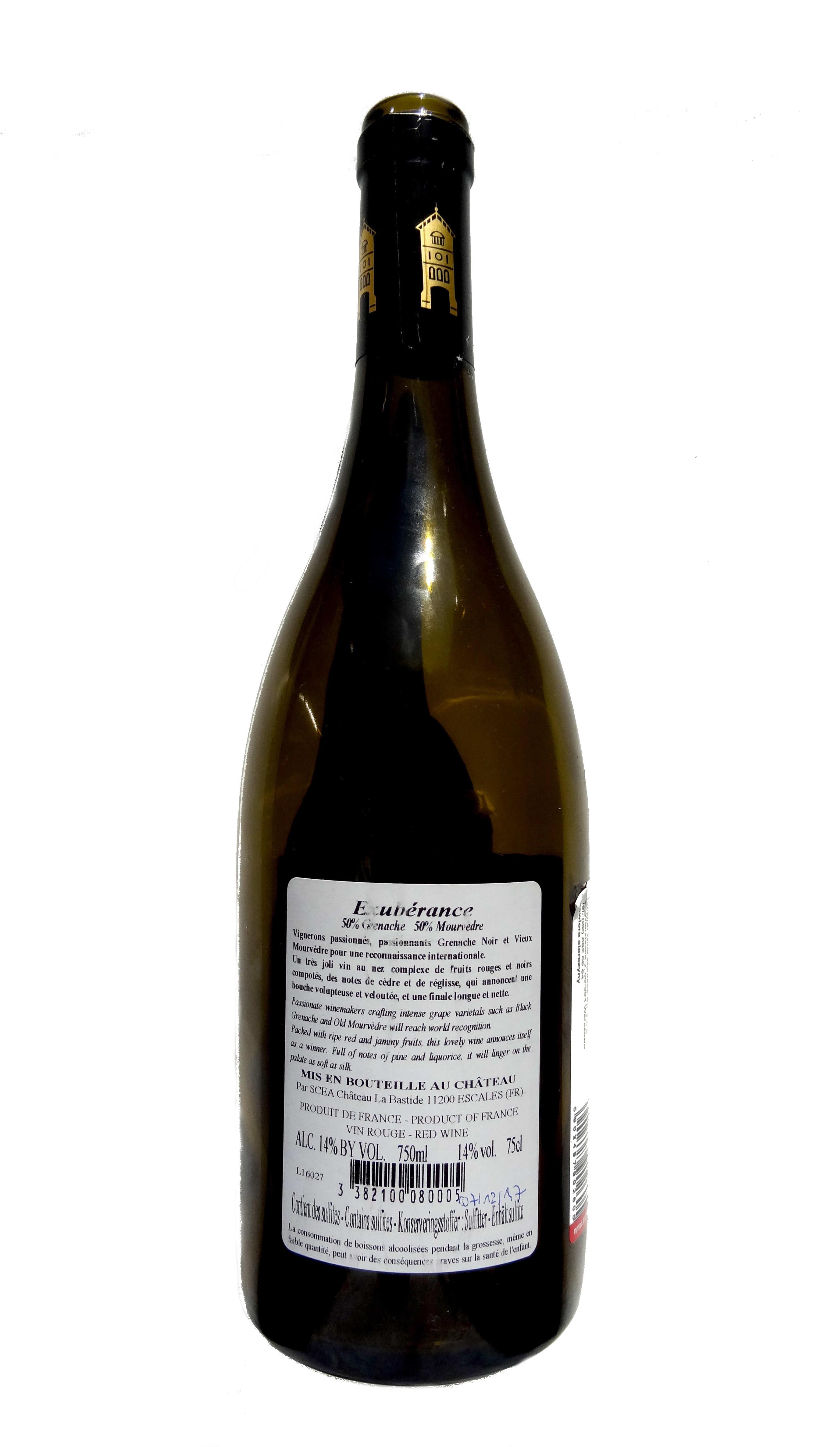 francuskie wino czerwone wytrawne wytrawne La Bastide Exubérance Corbières wine angellovesdreams (7)
