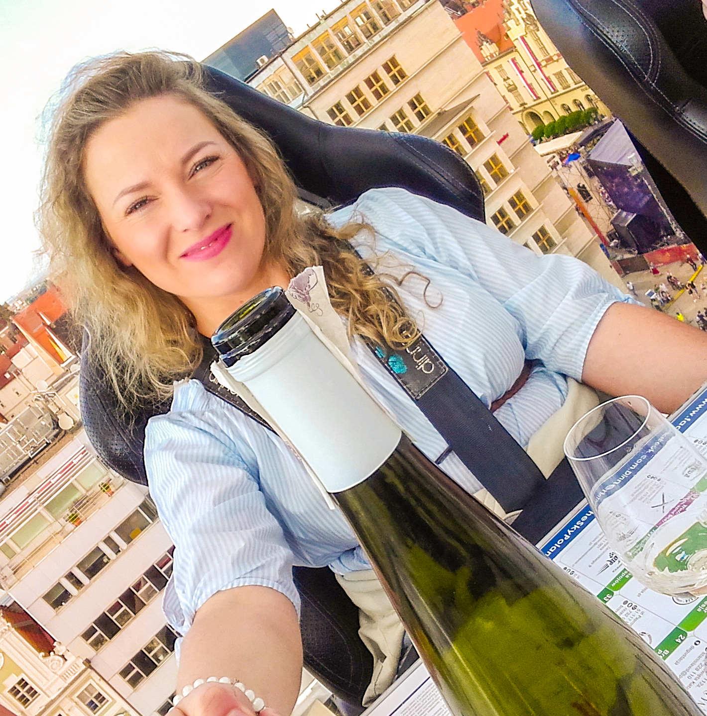 wine in the sky dinner in the sky wrocław wine tasting angellovesdreams winnice dolnośląskie wroclawianka polka