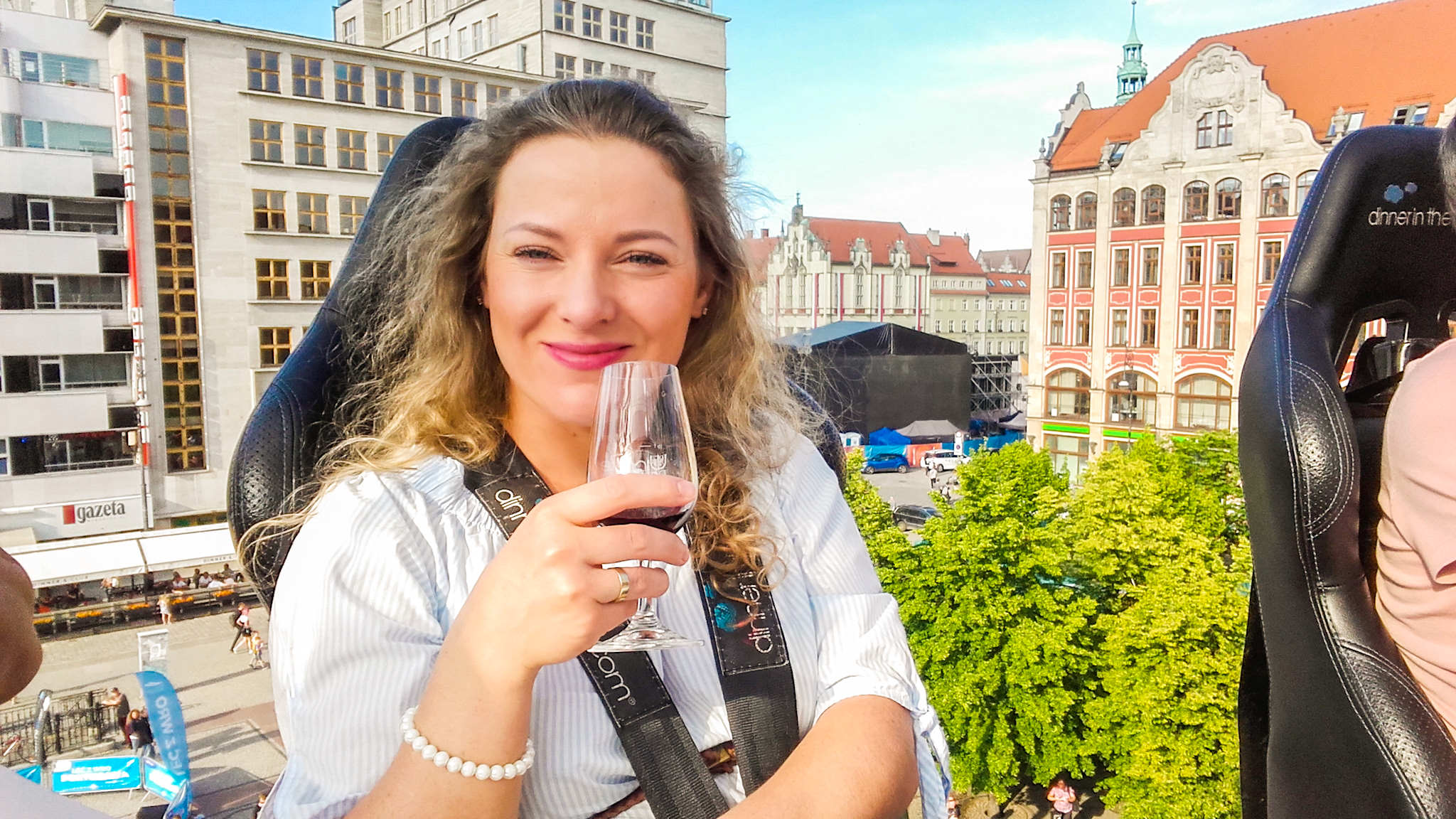wine in the sky dinner in the sky wrocław wine tasting angellovesdreams winnice dolnośląskie