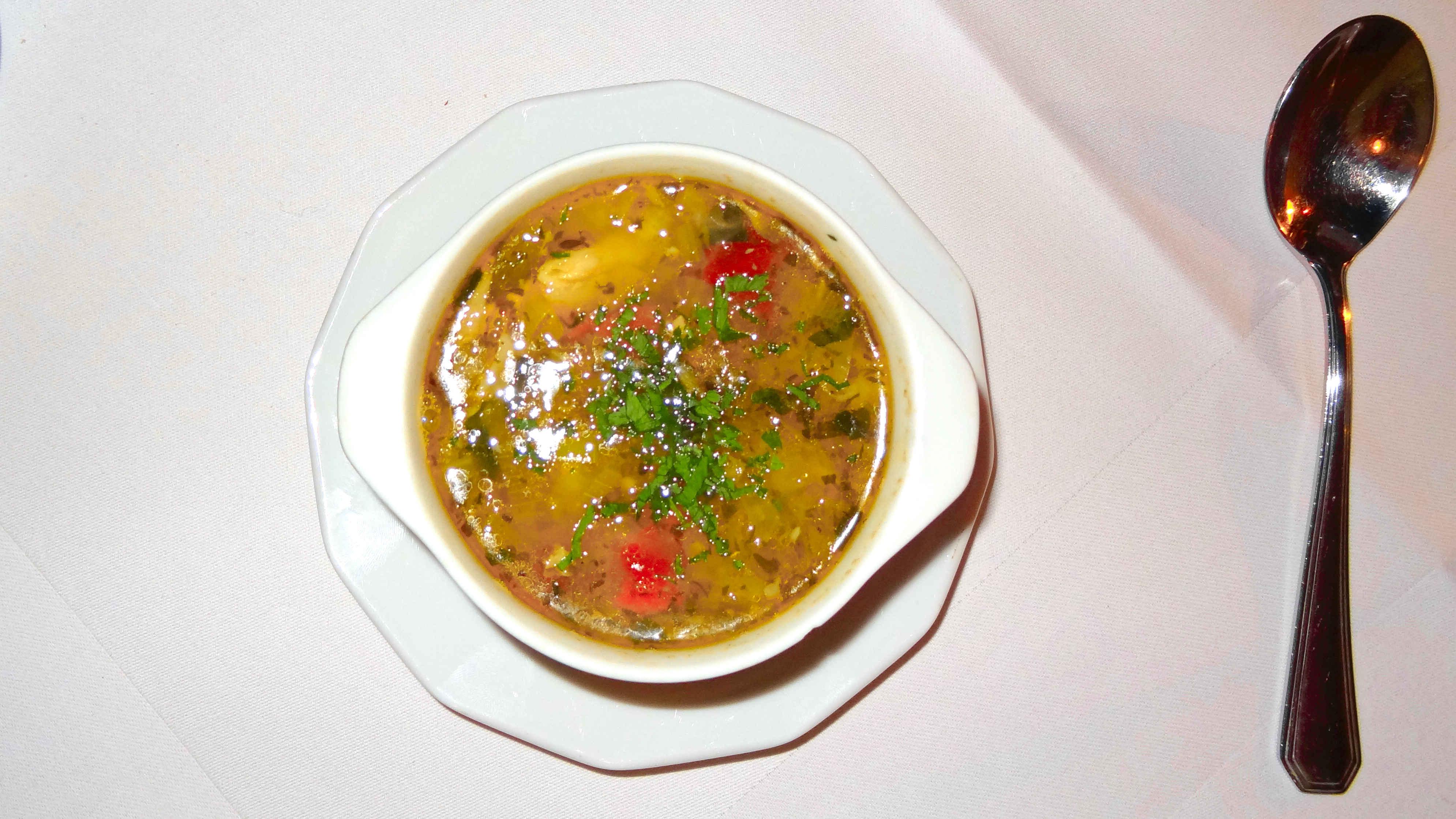 restauracja włoska we wrocławiu restauracja la scala we Wrocławiu w rynku kolacja we włoskim stylu angellovesdreams minestrone